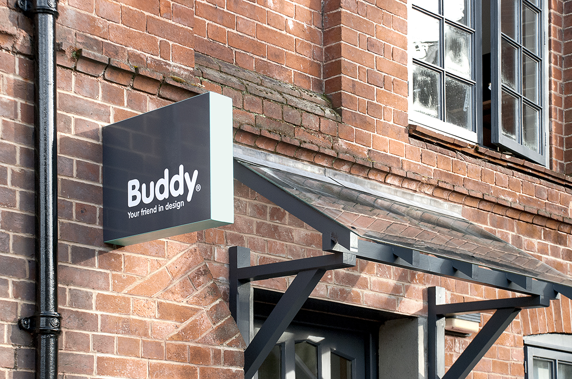 Buddy Creative Studio Sign 3