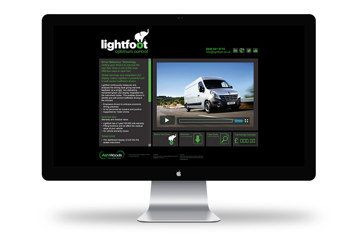 Lightfoot_website display