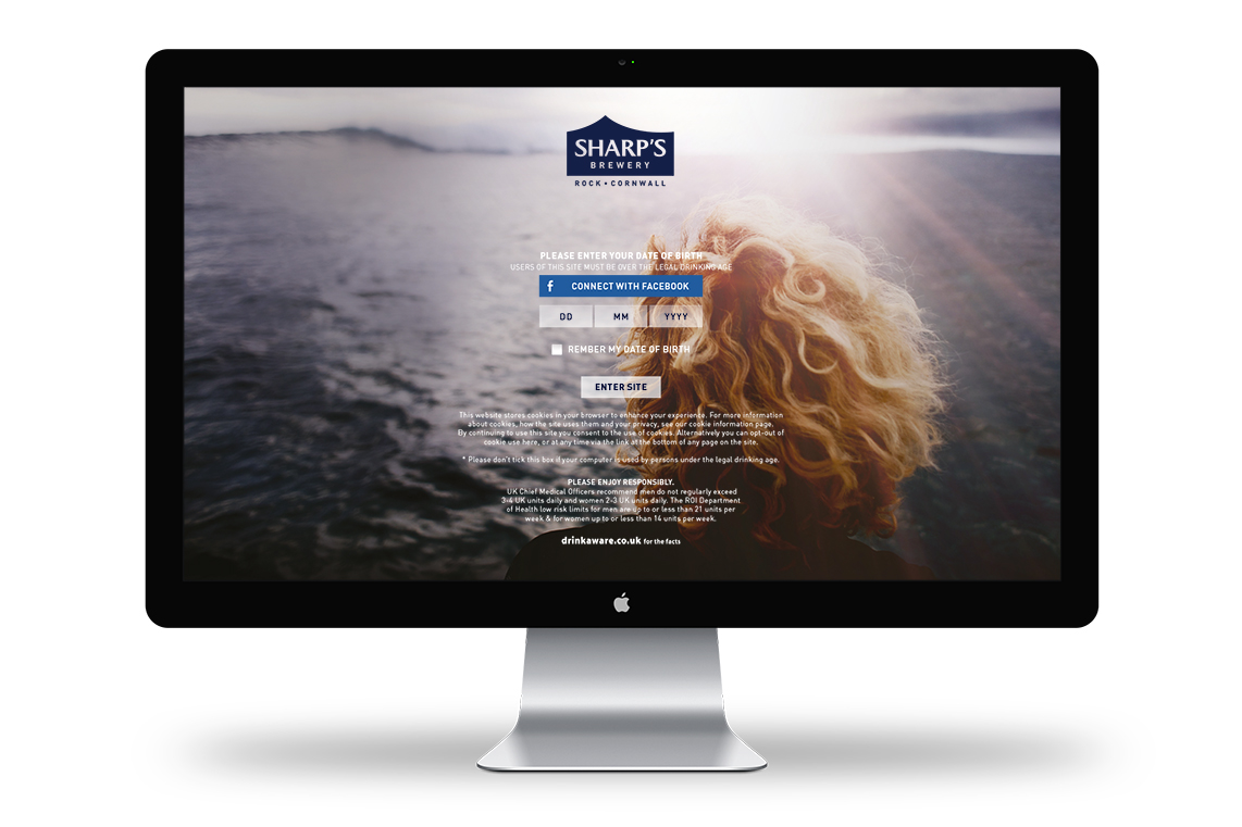 Sharp's_website display